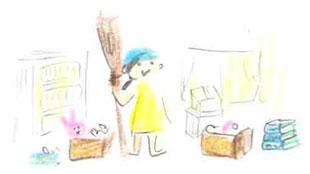 ご不要な品をご寄付にISSJ 『お宝エイド』のイメージ